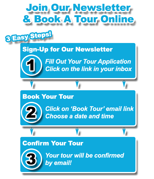 Join Our Newsletter & Book Your Daycare Tour